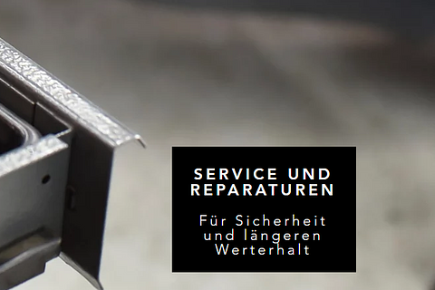 Service- und Reparaturen