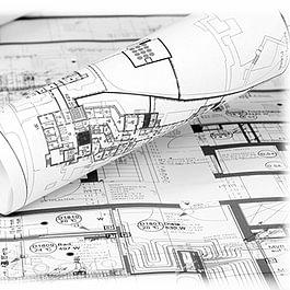 Etude des plans de la construction avant le début des investigations