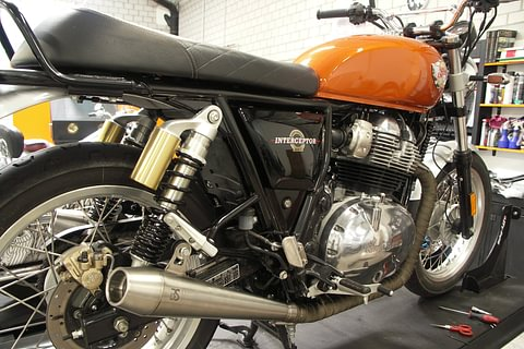 BS Exhaust for Royal Enfield Twins, Swiss Certificate