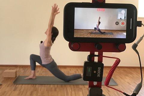 Yoga Video Online shop