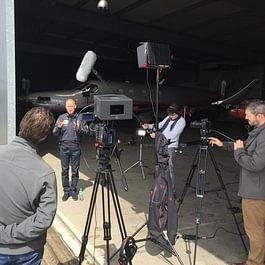 Co-production avec National Geographic sur Solar Impulse