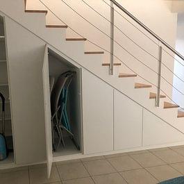 armadio sotto scala