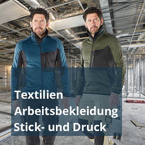 Textil I Arbeitsbekleidung I Arbeitsschutz I Stick-und Druck