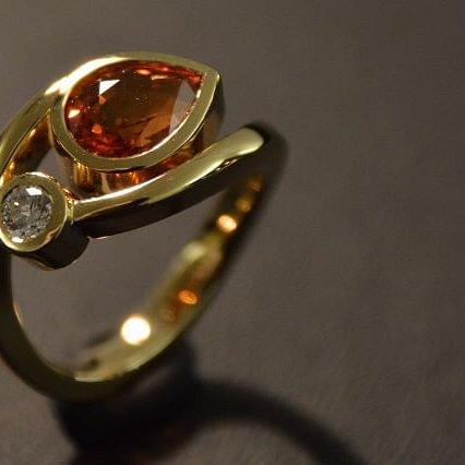 Ring / Schmuck, Goldschmied Gregorio Bern