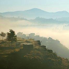Morgenstimmung in den Rhodopen, Bulgarien