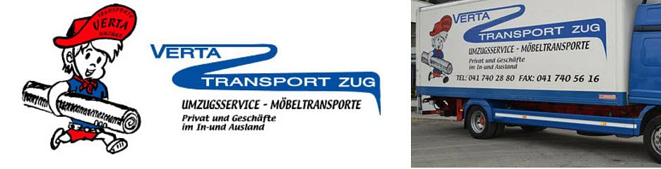 Verta Transport Zug