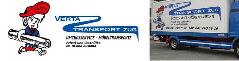 Verta Transport Zug