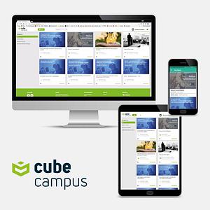 Unsere eLearning-Plattform cube campus