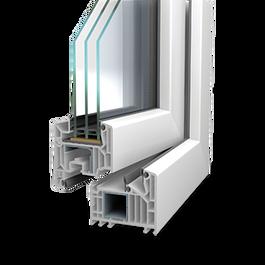 Profil de fenêtre PVC Veka Sofline 82 MD