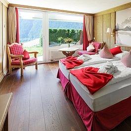 Doppelzimmer Eigersicht Hotel Spinne Grindelwald