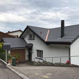 EFH in Niedergösgen, komplette Dachsanierung mit Dämmung und Dampfbremse.