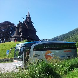 Travego Reisecar in Norwegen