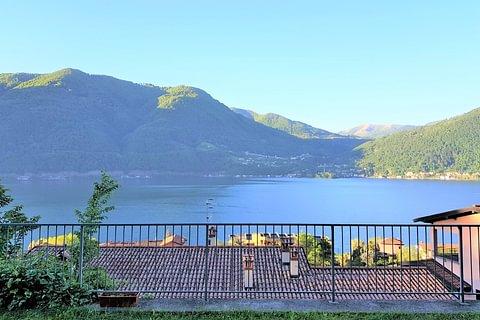 Cima Porlezza Casa contigua 5,5 locali vista lago in vendita
