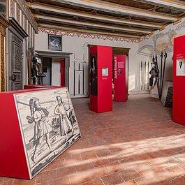 Thomas Küng, Wildegg, Bau der kompletten Ausstellungselemente mit Feuchtigkeitsregulierenden Massnahmen