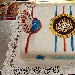 gâteau club patineur de meyrin