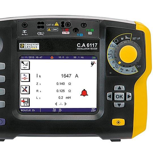 Chauvin Arnoux, appareils de mesure électrique portable