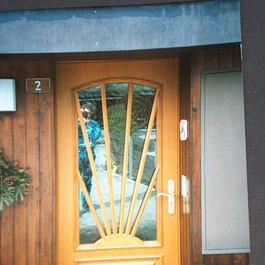 Portes d'entrées en bois massif
