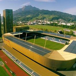 Photovoltaikanlage swissporarena Luzern