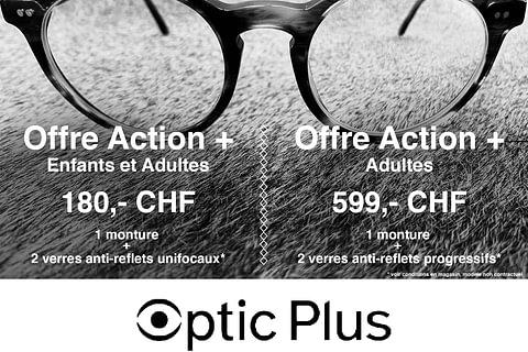 Offres Action + Lunettes