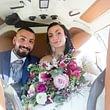 Trasporto degli sposi in elicottero EC 120 B