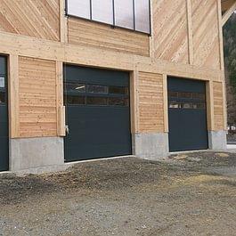 Portes sectionnelles Krispol 3m50 x 3m50