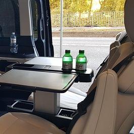 Mercedes-Benz V-Class Luxury Minivan interior