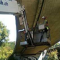 Autobahn-Brückenentwässerungen