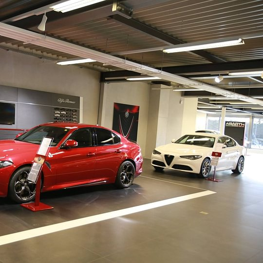 Ausstellung Alfa Romeo