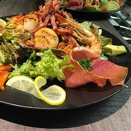 notre salade terre et mer