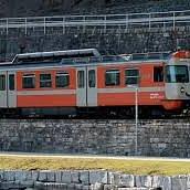 Durante il viaggio da Ponte-Tresa a Lugano
