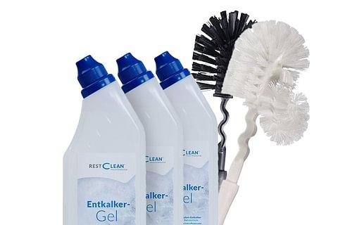 restclean®STARTER-Kit mit WC-Bürste weiss oder schwarz