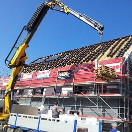 Réalisation d'une toiutre d'immeuble en PPE, à Biloey-Magnoux