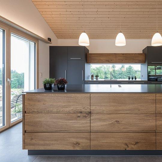 """Diese Küche war nominiert für den Swiss Kitchen Award 2019, in der Kategorie """"schönste Küche"""""""