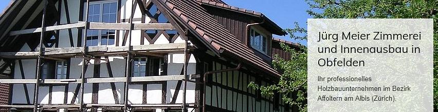 Meier Jürg Zimmerei und Innenausbau | Holzbau