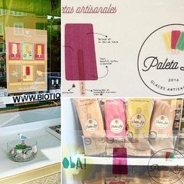sain, artisanal et délicieux les glace Paleta Loca