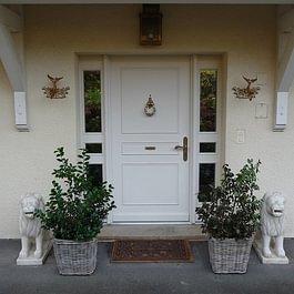 Porte d'entrée - Ebénisterie Philippe Ducraux - St-Légier