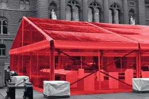 Zelte,  Böden und Bühnen mieten