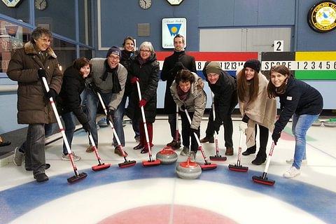 «Sweeping the broom» on ice