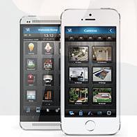 Application domotique smartphone