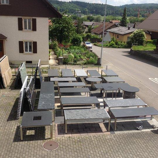 Unsere Tischausstellung in Staufen bei Lenzburg AG
