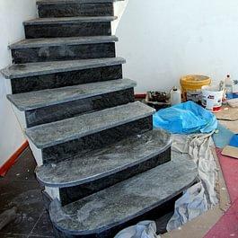 Escalier sur voûte sarrasine