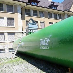 Pellets Tank