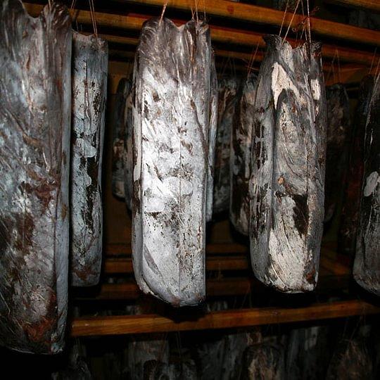 Séchage et maturation de la viande séchée