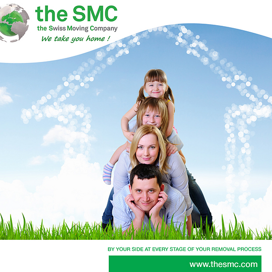 the SMC, 1ère société Suisse de gestion de déménagements internationaux