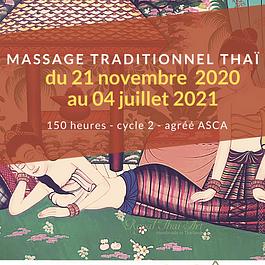 Formation Professionnelle Massage Thaï Traditionnel