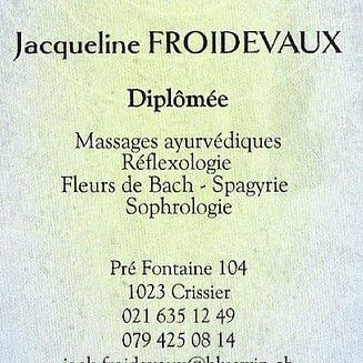 Froidevaux Jacqueline