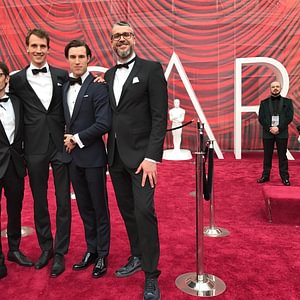 arbel an den Oscars 2017 in LA