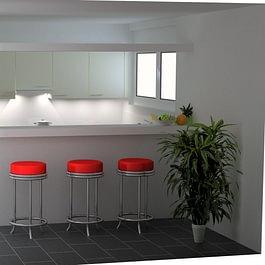 Küchen 3-D Visualisierung, Adliswil