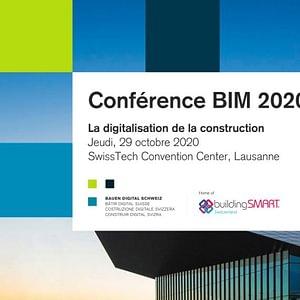 Conférence BIM 2020 - 29 octobre