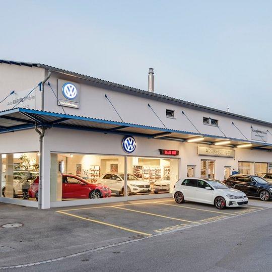 Verkauf von VW Personenwagen